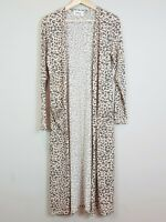 [ FEATHER+NOISE ] Womens Animal Print Long Cardigan    Size AU 8 or US 4