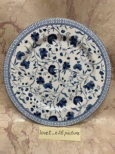(1) Ralph Lauren MACAO White & Blue Floral Porcelain Salad Plate NEW!