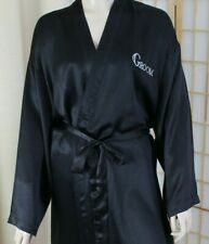 Beverly Clark Men's Black Silk Robe GROOM Size S/M/L/XL Wedding