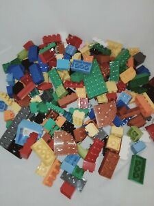 Bulk 220 Assorted DUPLO Blocks Building Bricks 220 Pieces