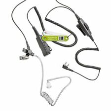 EARPIECE FOR ICOM RADIO WITH DOUBLE PTT MICROPHONE