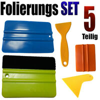 Folierung Rakel Set 5 Teilige Set - PROFI FOLIERUNGS SET  - Auto Folien