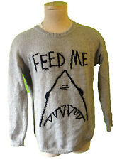 SHARK jaw sweater great white ugly christmas movie dinosaur punk paleo diet
