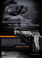 2010 BERETTA M9 Pistol Photo PRINT AD ADVERTISING Page
