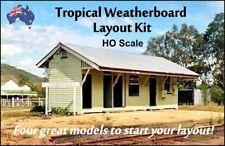 """HO Scale Australian BUILDING """"TROPICAL"""" STARTER KIT"""