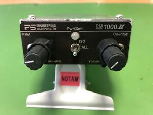 PS ENGINEERING PM 1000 II PANEL MOUNT INTERCOM P/N 11902