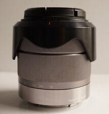 Sony E-mount 18-55mm f/3.5-5.6 OSS SEL1855 Silver Lens for Nex & Alpha Cameras