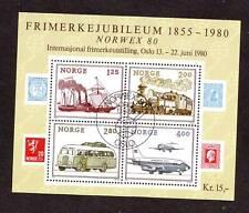 Norwegen, Block 3, gestempelt, Auflösung meiner Sammlung,