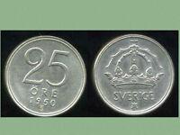 SUEDE 25 ore  1950   ARGENT  400/1000