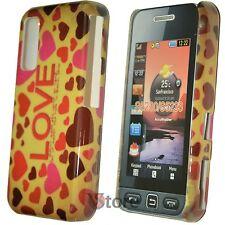 Cover Custodia Per Samsung Star WiFi S5230 Love LOVE Cuori Amore + Pellicola