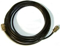 CB Ham Radio Coax Low Loss RG8X MINI8 65FT 20M 50 Ohm Fitted PL259