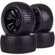 SET 1/10 Monster Truck 12MM HEX Wheel Rim & Tyre,Tires 88071 Fit TRAXXAS HSP HPI
