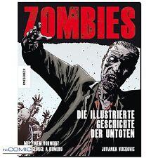 FILM BUCH Zombies die illustrierte Geschichte der Untoten Artbook Horror FULICI