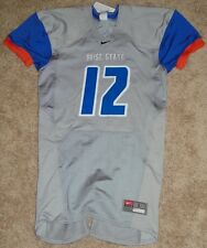 BSU Boise State Broncos Nike Combat Authentic Game Style Football Jersey Large