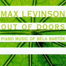 FREE US SHIP. on ANY 3+ CDs! NEW CD Max Levinson: Out of Doors - Piano Music of