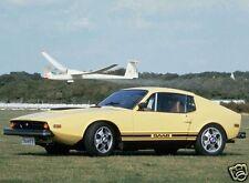 1970 Saab SONNET III, YELLOW, Refrigerator Magnet, 40 MIL