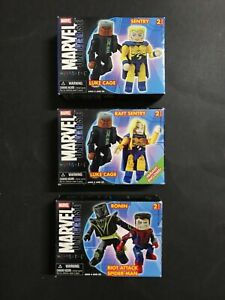 MARVEL MINI MATES UNIVERSE LOT OF 3 IN PACK, ONE VARIANT