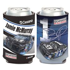 2018 JAMIE MCMURRAY #1 CESSNA CAN COOLER KOOZIE NEW W/TAGS FREE SHIP