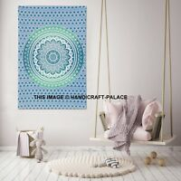 Indian Ombre Mandala Tapestry Cotton Wall Hanging Large Tapestries Dorm Decor