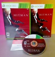 Hitman Absolution - Microsoft Xbox 360 Rare Game Complete  Tested Near Mint Disc
