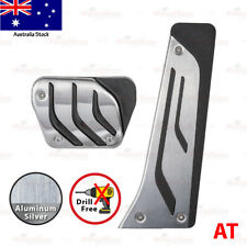 AUTOMATIC Stainless Steel SLIP-ON Gas Fuel Brake Pedals Covers UNIVERSAL fit BMW