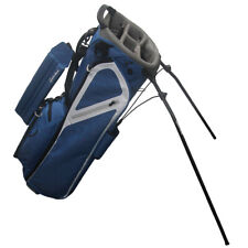 TaylorMade Golf 2020 FlexTech Lite Single Strap Stand Bag Blue/Gray