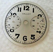 VINTAGE GALLET CHRONOGRAPH RARE WATCH DIAL (23.5mm)