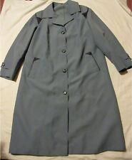 Ladies blue RAINCOAT UK Size 14 - New