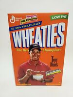 Tiger Woods Wheaties Cereal Box Full Unopened Vintage