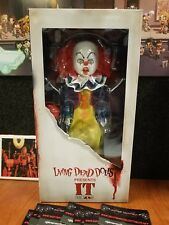 Pennywise IT Living Dead Doll Horror Figure Scary Clown 90's Movie