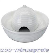 Hunde- oder Katzen Trinkbrunnen Keramik 0,8 Liter, VITAL FLOW, stabil u.standf.