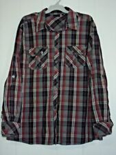 JACK Big & Tall Button-Front Casual Shirts for Men