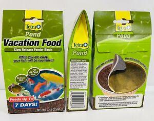 Tetra Pond Vacation Food Slow Release Feeder Block 3.45oz