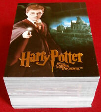 HARRY POTTER - ORDER OF THE PHOENIX - COMPLETE BASE SET 90 trading cards ARTBOX