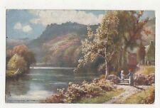 The Church Pool Bettws Y Coed Vintage Tuck Postcard 314a