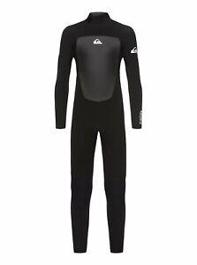 Quiksilver Prologue 3/2 mm Back Zip Wetsuit - Boy's - Black (KVJ0) / 14