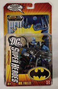 DC Super Heroes Select Sculpt Series 3 Mr. Freeze Action Figure SEALED 2006