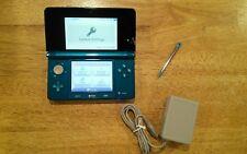 Nintendo 3DS Launch Edition Aqua Blue Handheld System