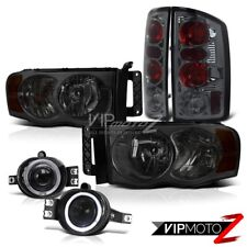 <<2002-2005>>||Dodge Ram 1500||SMOKE HeadLight SMOKE TAIL LIGHT HALO FOG LIGHT