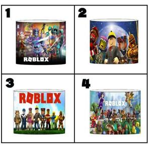 """ROBLOX Ceiling Light Shade Lampshade 8""""/20cm in 4 DESIGNS FREE POST"""