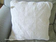 Kissenbezug LARISSA Deko 50x50 Weiß Vintage Shabby Chic Landhausstil Bestickt