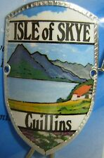 Scotland Isle of Skye Cuillins new mount stocknagel hiking medallion G9764
