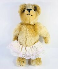 Annette Funicello Collectible Bear Co Mohair Jointed Bear With Tutu 15""