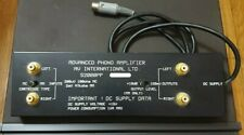 AVI S2000PP Phono PreAmplifier, moving coil and magnet excellent condition.
