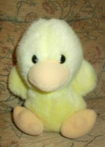 vintage MOTHERCARE yellow duck soft toy - 21 cm tall