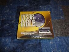 KJV New Testament of the Bible-audio on CD, Visor edition with Notepad and Pen