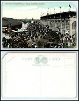 CANADA Postcard - Toronto, Canadian National Exposition, Entrance Grand Stand S1