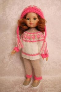 Sweater, Pants, Hat, Shoes for doll Paola Reina Little Darling 32-34 cm handmade