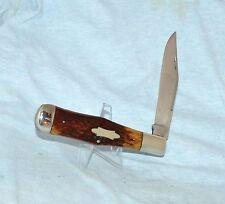 RARE VINTAGE CASE BRADFORD XX ROGERS BONE COKE KNIFE C61050 1915-20 BOOK $1800