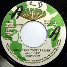 JIMMY CLIFF 45 Treat The Youths Right / Originator VG++ Reggae ONENESS c1496